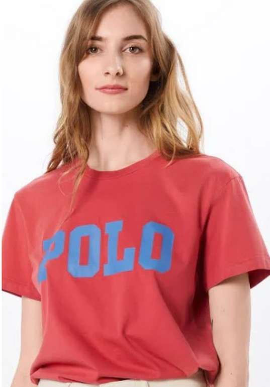 Polo Ralph Lauren T-Shirt in blau / rot für 21,45€ inkl. Versand (statt 35€)