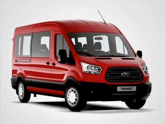 Ford Transit 350 Trend L3H2 Kombi in Race Rot für 83,19€ Netto mtl. im Gewerbeleasing (LF: 0,22 / Sofort verfügbar)