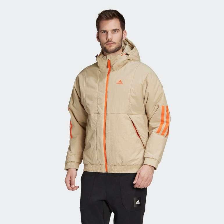 Adidas BTS Hooded Jacket savannah/orange für 39,98€ inkl. Versand (statt 71€)