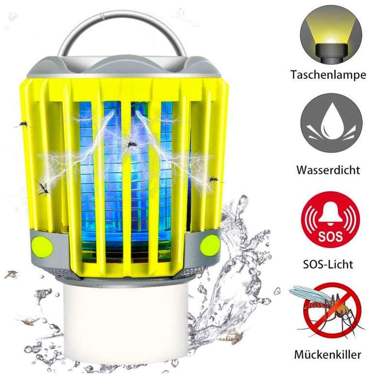Runacc LED-Laterne mit Insektenvernichter für 9,20€ inkl. Primeversand (statt 15€)