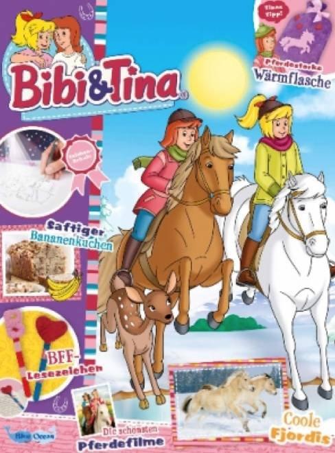Kinder & Jugendzeitschriften mit Prämie - z.B. Jahresabo Bibi & Tina für 37,80€