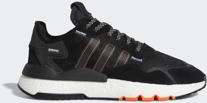 "Adidas Nite Jogger (FW0187) im ""Core black/cloud white/solar orange""-Colorway für 97,97€ (statt 130€)"