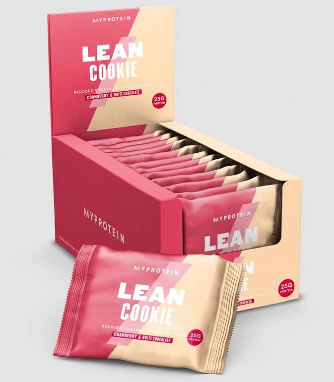 MyProtein Lean Cookie in zwei Geschmacksrichtungen 96 Stück für 54,80€ inkl. Versand (statt 87€)