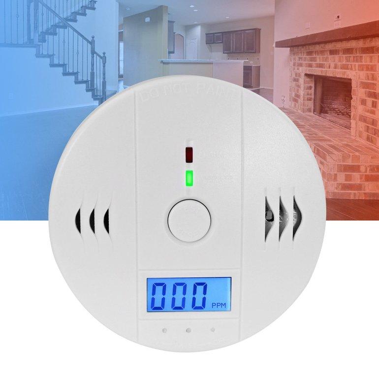 2x Eaxus Kohlenmonoxidmelder mit 85dB Alarm und LCD für 19,99€ inkl. Versand (statt 25€)
