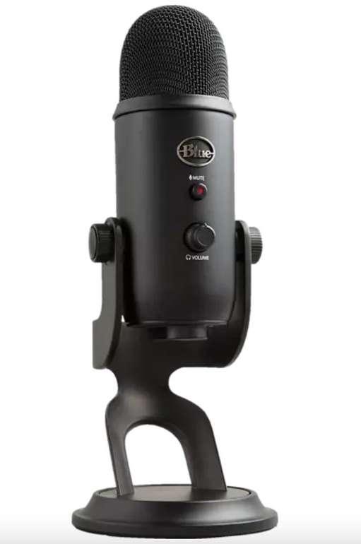 Blue Microphones Yeti Blackout USB Mikrofon für 99€ inkl. Versand (statt 123€) - Newsletter Gutschein!