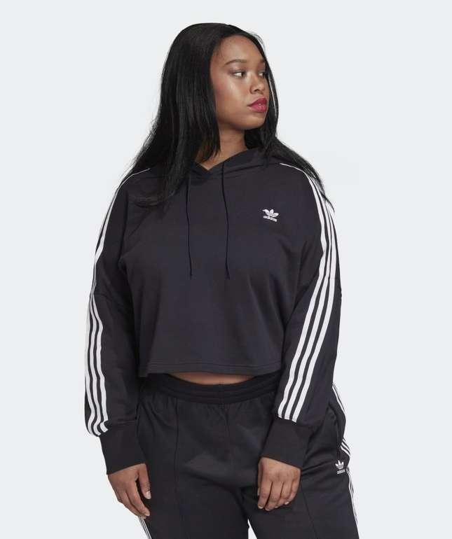 Adidas Cropped Damen Hoodie (große Größen) in 2 Farben für je 22,75€ (statt 31€) - Creators Club