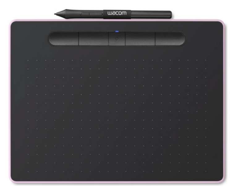 Wacom Intuos M Grafiktablett in Rosa für 105,90€ inkl. Versand (statt 153€)