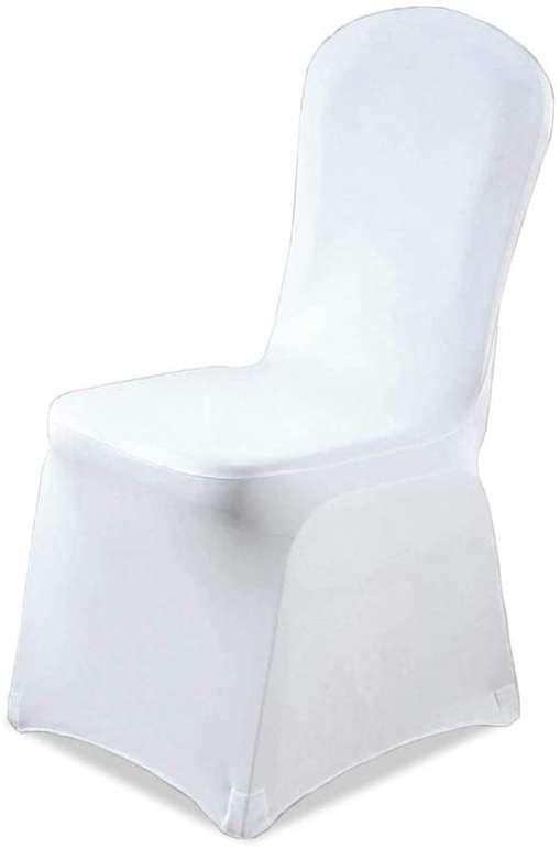Hengda weiße Stuhlhussen reduziert, z.B. 50 Stück für 60,19€