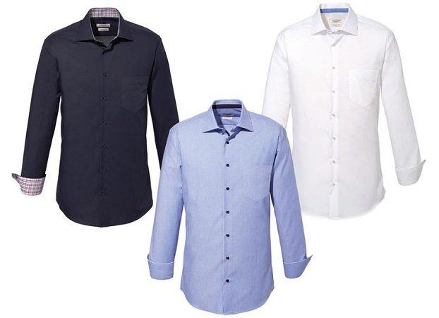 NOBEL LEAGUE - bügelleichte Businesshemden ab 9,99€ + 5€ GS ab 50€