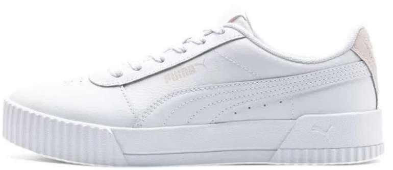 Puma Carina Damen Sneaker in weiß für 33,60€ inkl. Versand (statt 42€)