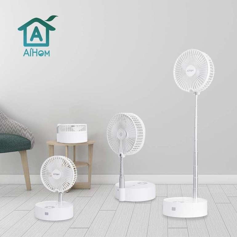 AiHom Ventilator mit Fernbedienung & 4 Geschwindigkeitsstufen für 26,99€ inkl. Versand