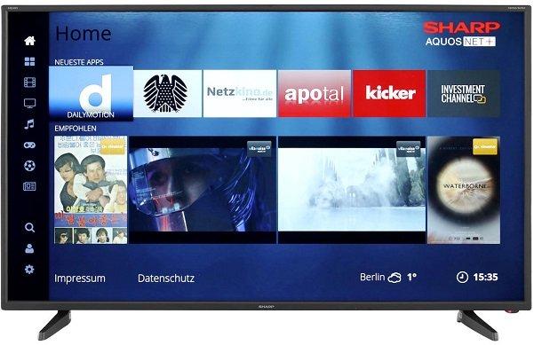 Sharp LC-43FG5242E - 43 Zoll Full HD Smart TV für 249€ inkl. VSK