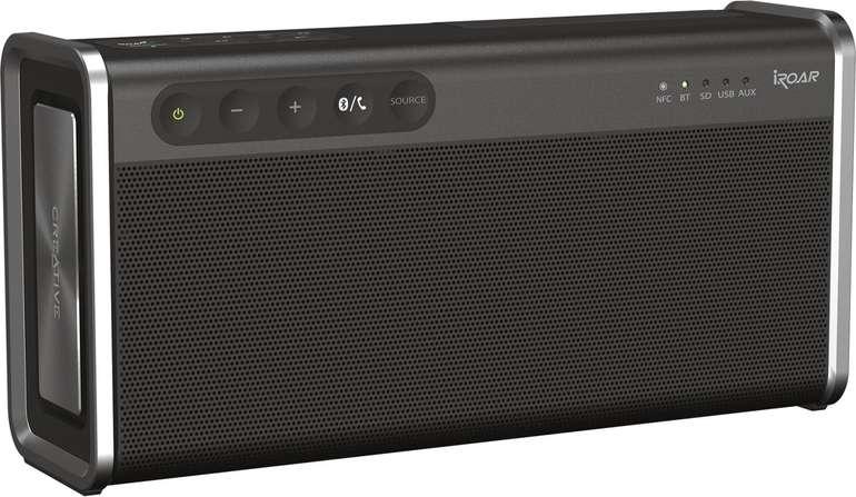 Creative iRoar Go Bluetooth Lautsprecher für 79,99€ inkl. Versand (statt 100€)