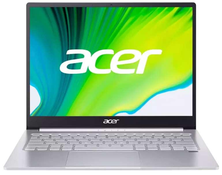 ACER Swift 3 (SF313-53-58B3) Notebook mit 13,5 Zoll (Core i5 Prozessor, 16 GB RAM, 1 TB SSD) für 845,99€ + 150€ Cashback