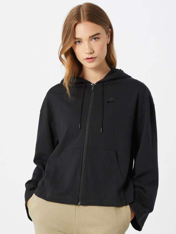 Nike Sportswear Sweatjacke - FZ Hoodie in schwarz für 19,43€ inkl. Versand (statt 44€)