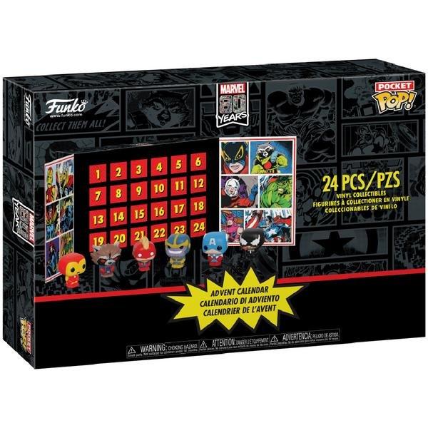 Marvel Funko Pocket Pop! Adventskalender mit 24 Figuren für 35,59€ (statt 63€)