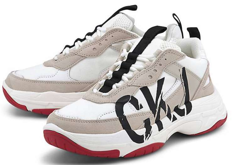 Calvin Klein Jeans Damen Sneaker Marleen in Weiß für 60€ inkl. Versand (statt 77€)