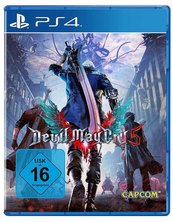 Devil May Cry 5 für die Playstation 4 zu 12,99€ inkl. Versand (statt 17€)