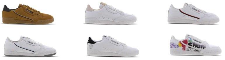 Verschiedene Adidas Continental 80 Sneaker 3