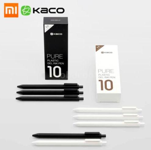 10er Pack Xiaomi Mijia Kaco 0,5mm Gel Stifte für 5,17€ inkl. Versand
