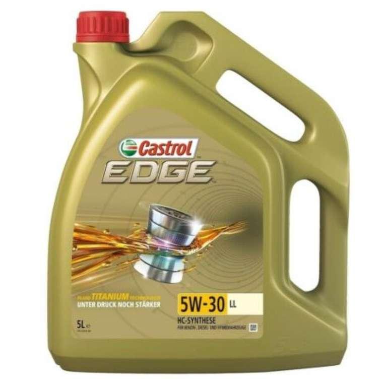 5 Liter Castrol Edge 5W-30 Titanium LL Motoröl (15669E) für 39,43€ inkl. Versand (statt 55€)