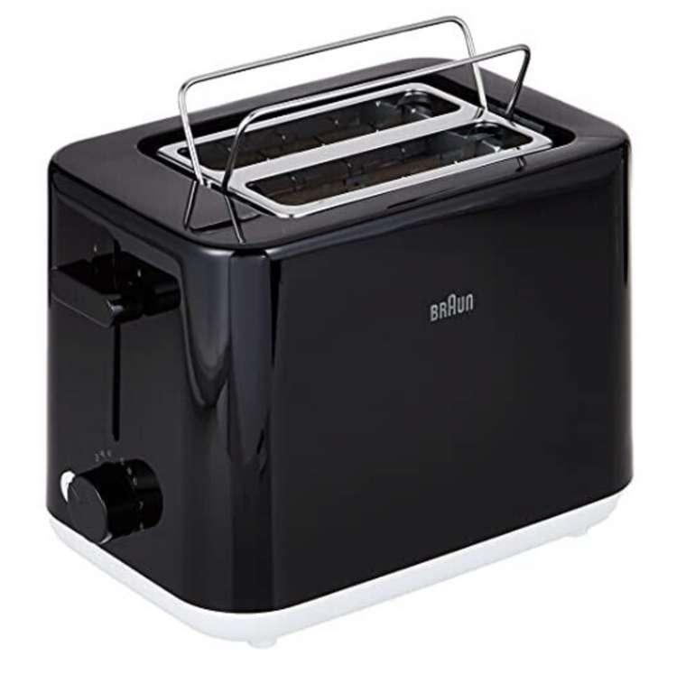 Braun Breakfast Doppelschlitz-Toaster HT1010BK mit 8 Toaststufen für 24,94€inkl. Versand (statt 40€)