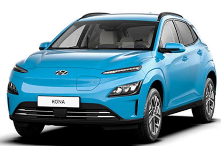 Privatleasing: Hyundai Kona Elektro Facelift mit 136 PS für 149,61€ mtl. (BAFA, LF: 0.41, Überführung: 890€)