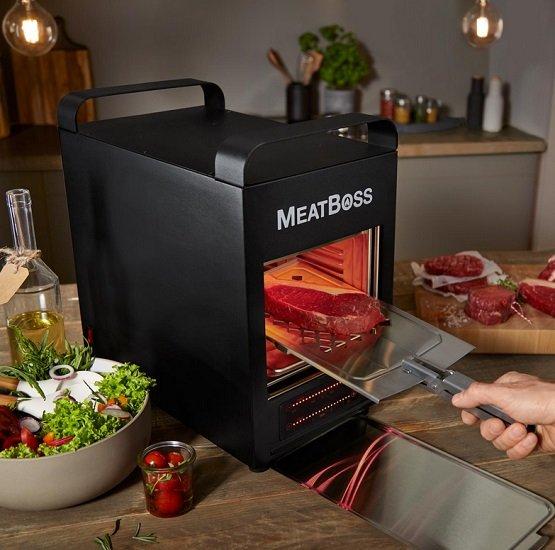 MeatBoss elektrischer Hochtemperaturgrill bis zu 850 °C für 99,95€ inkl. VSK