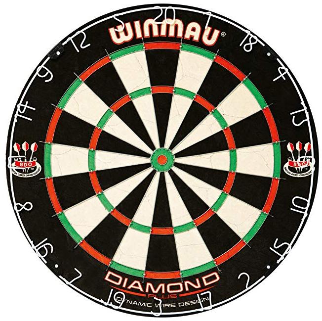 Winmau Diamond Plus Advanced Bristle Tournament Dartboard für 23,63€ (Prime)