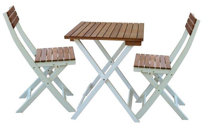 """Bellavista Garten-Set """"Melbo"""" (bestehend aus 1 Tisch und 2 Stühlen) für 39,94€"""