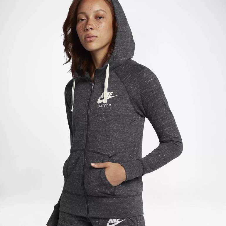 Nike Sportswear Gym Vintage Damen Hoodie mit Reißverschluss für 29,18€(statt 37€) - Nike Membership!