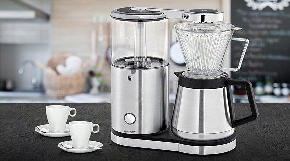 wmf aromamaster thermo kaffeemaschine mit 2 tassen f r 89 95. Black Bedroom Furniture Sets. Home Design Ideas