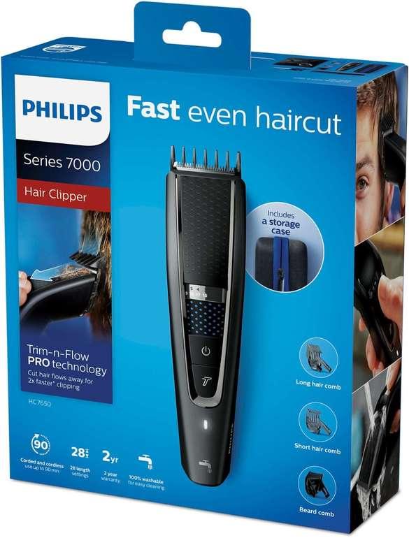 Philips Haarschneider series 7000 - HC7650/15 (abwaschbar) für 38,99€ inkl. Versand (statt 65€) - Newsletter