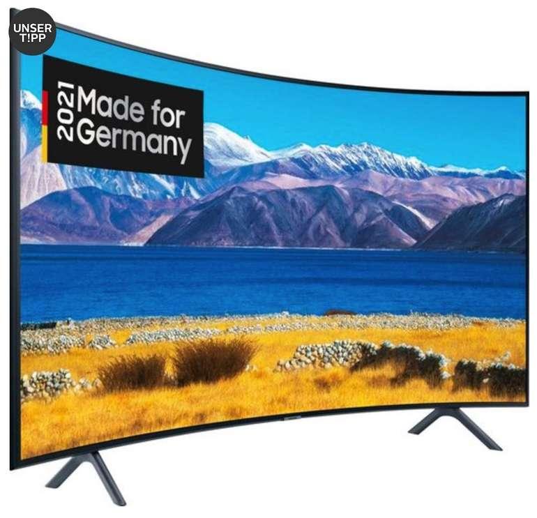 Samsung GU55TU8379U - 55 Zoll 4K Ultra-HD Curved LED Smart-TV für 469,90€ inkl. Versand (statt 540€)