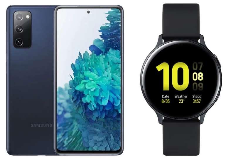 Samsung Galaxy S20 FE (99€) + Galaxy Watch Active2 + Congstar AllNet Flat (12 GB LTE) für 28€ mtl.