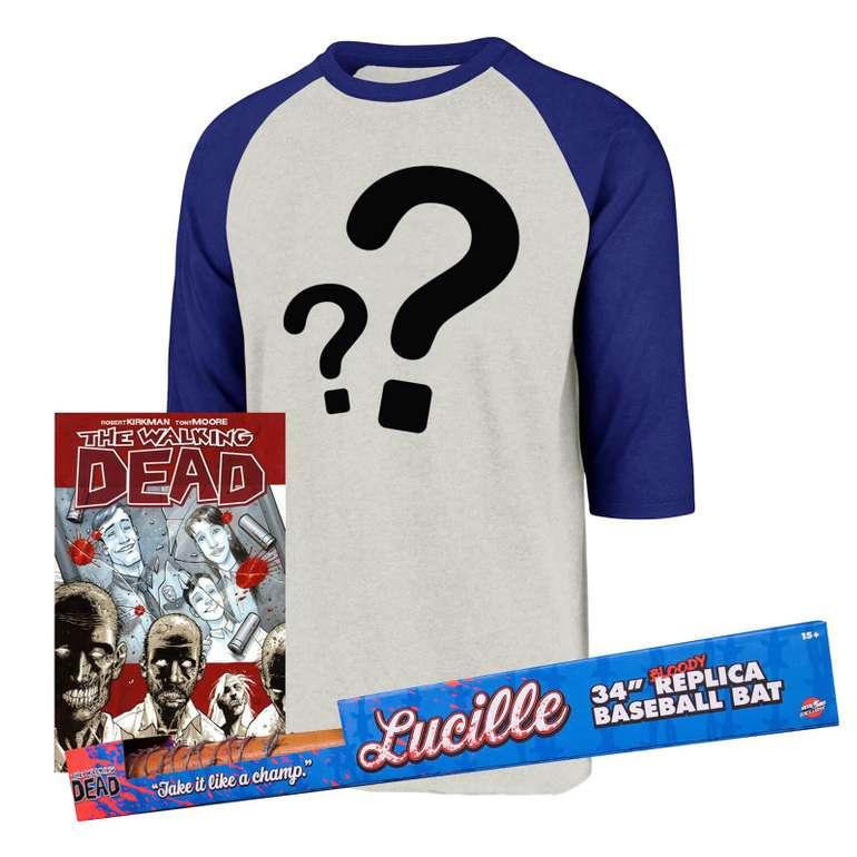 The Walking Dead Baseball Bat Bundle (T-Shirt +  Baseball Schläger + Comic) für 24,48€