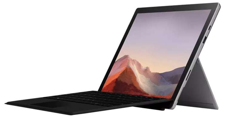 "Microsoft Surface Pro 7 Platin - 12,3"" Convertible (i7, 16GB RAM, 512GB SSD) für 1.593,97€ (statt 1.790€)"