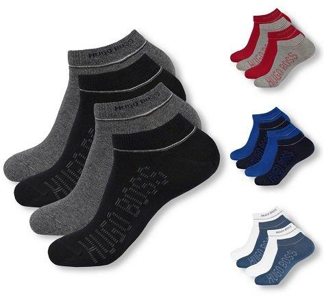 4 Paar Hugo Boss Sneaker Socken für 26,99€ inkl. Versand  (statt 39€)