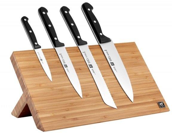 """ZWILLING """"TWIN Chef"""" Magnet Messerblock mit 4 Messern für 79,96€ inkl. VSK"""
