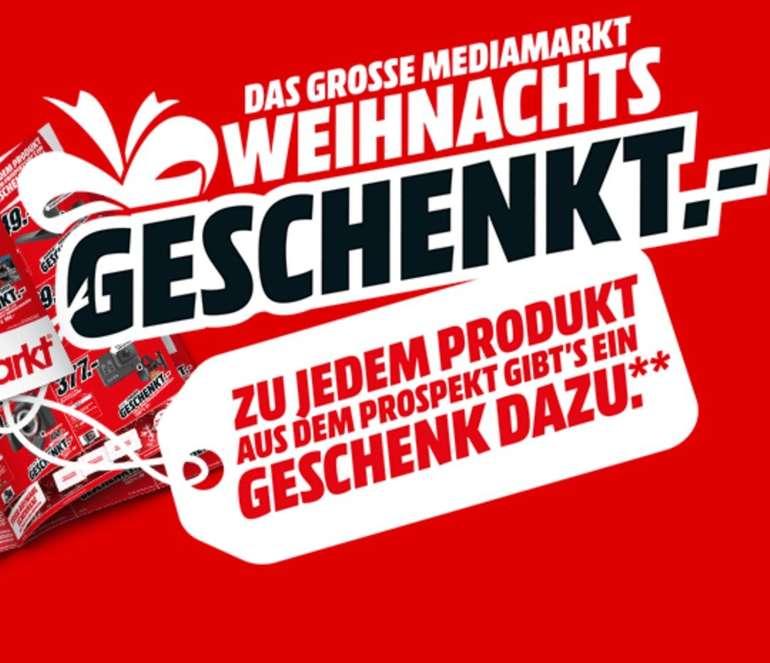 Media Markt Weihnachts-Geschenkt-Aktion: 1 Produkt kaufen und ein 2. geschenkt bekommen
