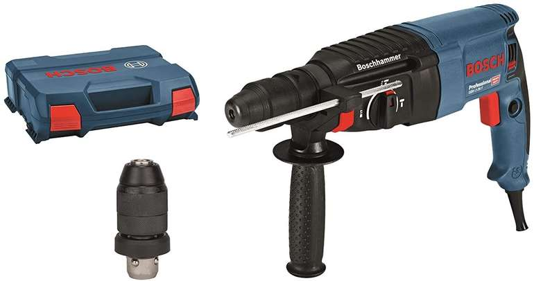 Bosch Bohrhammer GBH 2-26 F Professional mit SDS-Plus Wechselfutter für 123,99€ inkl. Versand (statt 160€)