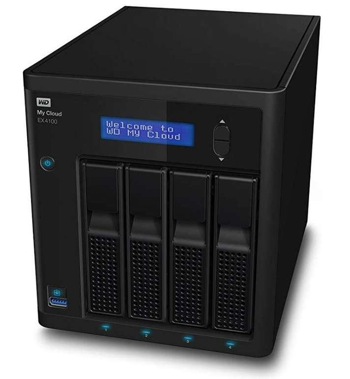 WD My Cloud EX4100 Case NAS - 4-Bay Zentraler Netzwerkspeicher (2x 4TB WD Red) für 396,56€ (statt 630€)