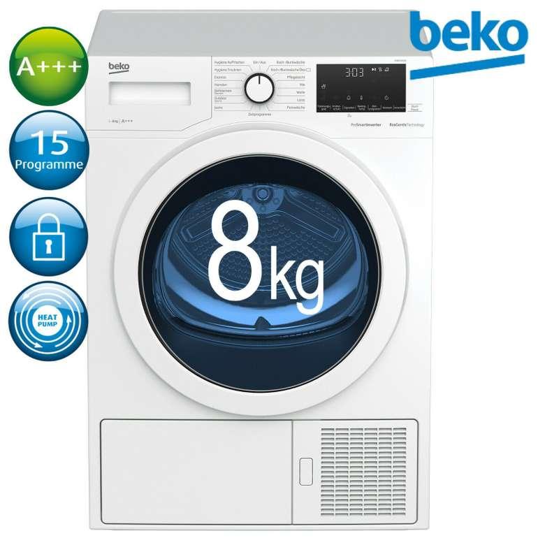"Beko Wärmepumpentrockner ""DH85T6GXV"" (A+++, 8kg) für 395,91€ inkl. Versand (statt 499€)"