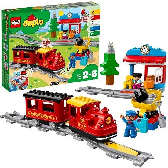 LEGO Duplo 10874 - Dampfeisenbahn für 39,99€ (statt 50€)
