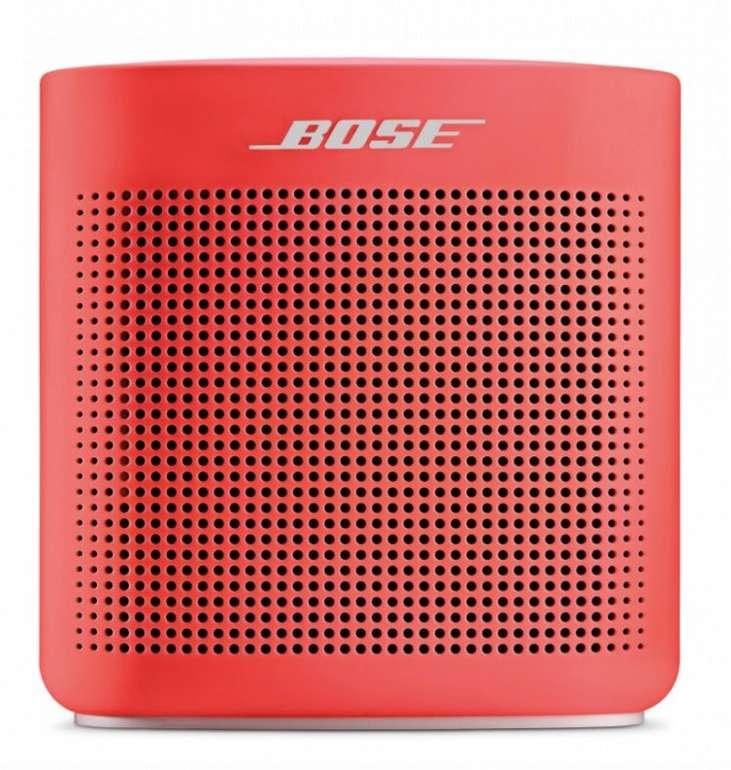 Bose Soundlink Color II Bluetooth Lautsprecher in rot für 83,90€ inkl. Versand (statt 98€)