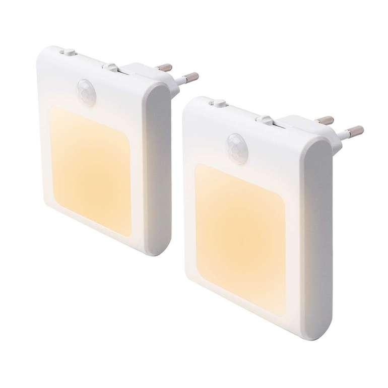 Jokben 2er Set LED Nachtlichter mit Bewegungsmelder für 10,39€ inkl. Prime Versand