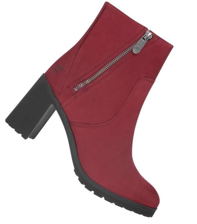 Timberland Allington Damen Stiefeletten in Rot für 51,94€ inkl. Versand (statt 70€)