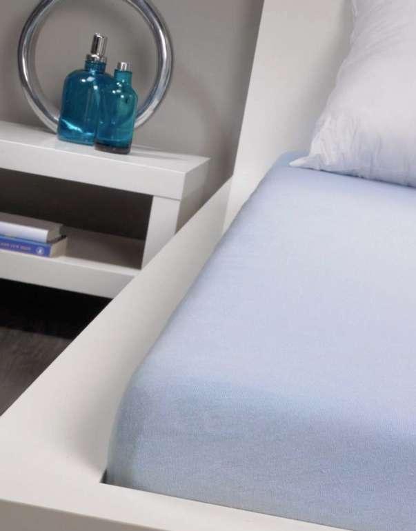 4x Bassetti Spannbettlaken (90 x 200 cm) in blau oder weiß für 27,85€ inkl. Versand (statt 40€)