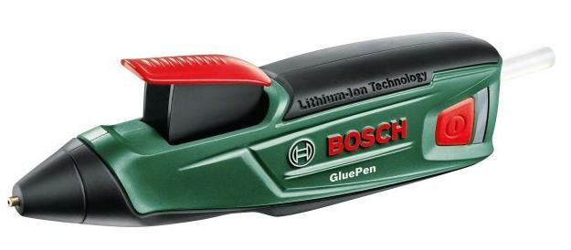 Bosch Akku Heißklebepistole GluePen + 4 Klebesticks für 22,22€ (statt 28€)