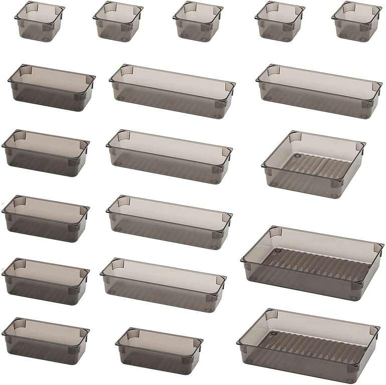 Ckate 18-teiliges Schubladen Ordnungssystem für 16,19€ inkl. Prime Versand (statt 27€)